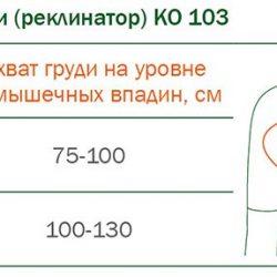 КО-103 КОРРЕКТОР ОСАНКИ (РЕКЛИНАТОР) ORTO КО-103