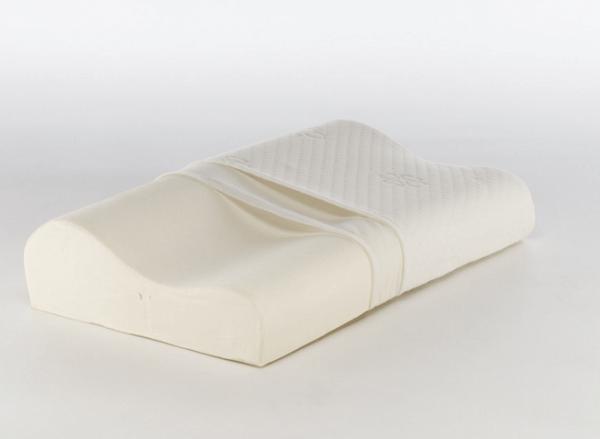Подушка с эффектом памяти 35х56 см, валики 10 и 12 см LUOMMA LUMF-501