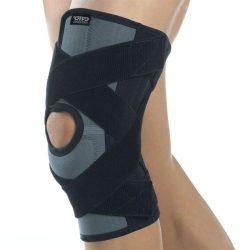 AKN 140 Бандаж на коленный сустав усиленный AKN 140, черный, ORTO