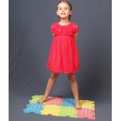 Массажный коврик ортопедический для детей Fosta F 0810