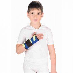 Детский бандаж на лучезапястный сустав (с металлической шиной) Т-8331
