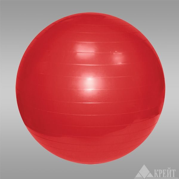 Гимнастический мяч 55см в коробке с насосом GMp 55 Крейт