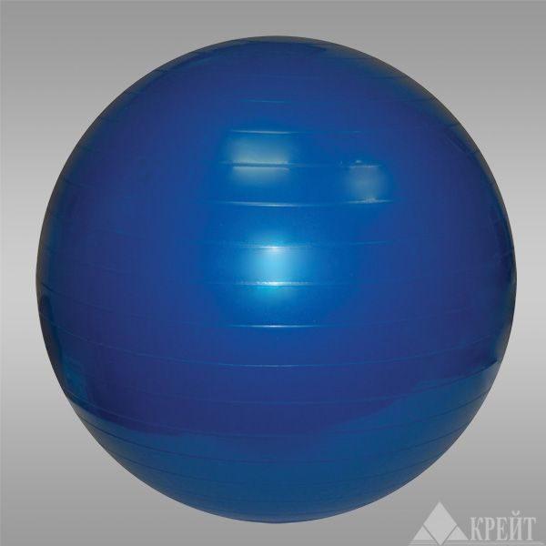 Гимнастический мяч c системой АВС 55см в коробке с насосом AGMp 55 Крейт