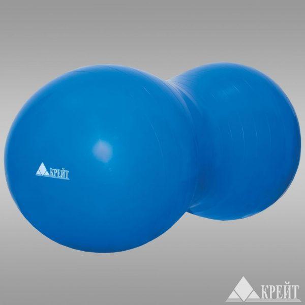 Мяч в форме арахисового ореха, 50*100 см (в коробке с насосом) Крейт