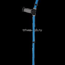 Купить детский костыль с опорой под локоть, цвет синий TN-224 Тривес