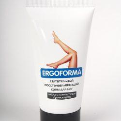 Крем для ног питательный, восстанавливающий Ergoforma 50 мл.