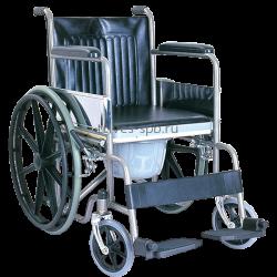 Купить Кресло-коляска с ручным приводом от обода и с санитарным устройством CA609BE Тривес