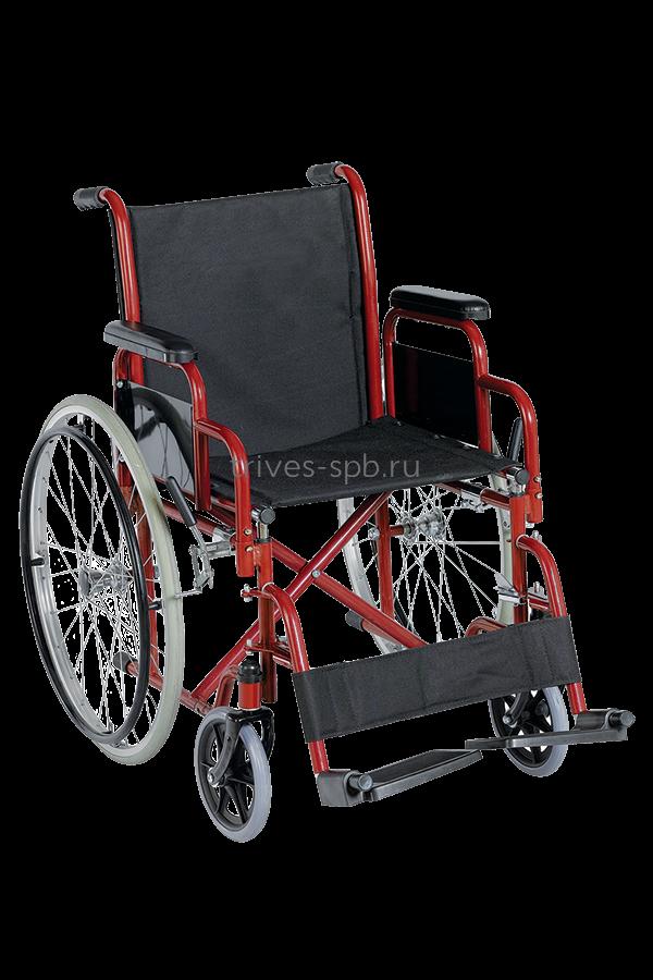 Кресло-коляска с ручным приводом от обода CA923E Тривес 1