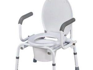 Кресло-туалет с опускающимися подлокотниками CA667 Тривес 1