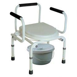 Купить кресло-туалет с опускающимися подлокотниками CA667 Тривес