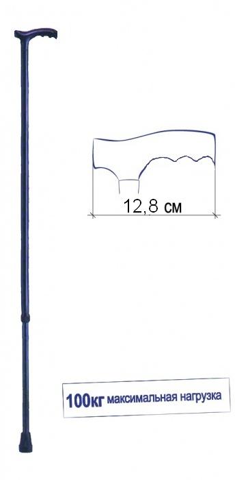 Трость телескопическая с Т-образной ручкой CA833L5 Тривес 1
