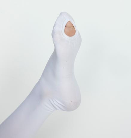 Чулки антиэмболические Ergoforma 2 класса компрессии белые EU 267 1