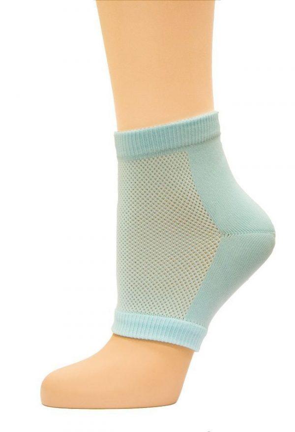 Гелевые увлажняющие носки (протекторы пятки) СТ-70 Тривес 1