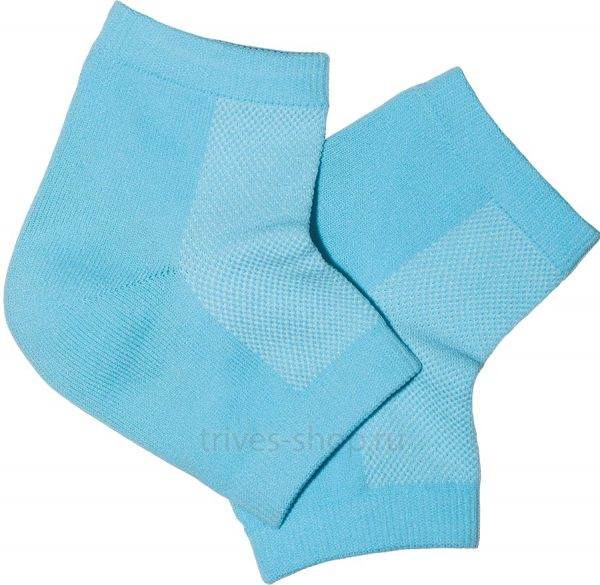 Купить Гелевые увлажняющие носки (протекторы пятки) СТ-70 Тривес