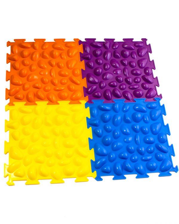 Массажный коврик «Цветные камешки» М-516 Тривес 1