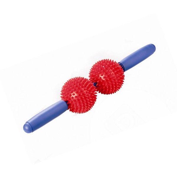 Мячи игольчатые с ручкой (2 больших мяча) М-402 Тривес 1