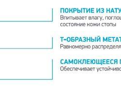 Купить Ортопедические разгружающие пелоты для переднего отдела стопы ORTMANN SolaPro META-T CT0150