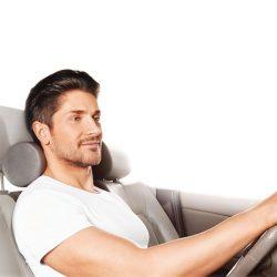 Купить Подушка ортопедическая автомобильная под голову с эффектом памяти TRELAX П16 AUTOHEAD 12 x 27 см