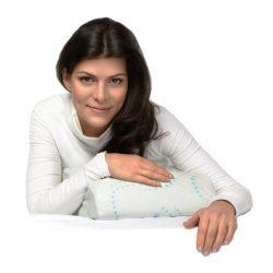 Купить Подушка ортопедическая под голову для путешествий с эффектом памяти TRELAX П07 RESPECTA COMPACT 30 x 38 см