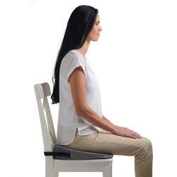 Купить Подушка ортопедическая с откосом на сидение TRELAX П17 SPECTRA SEAT 44 x 39 см