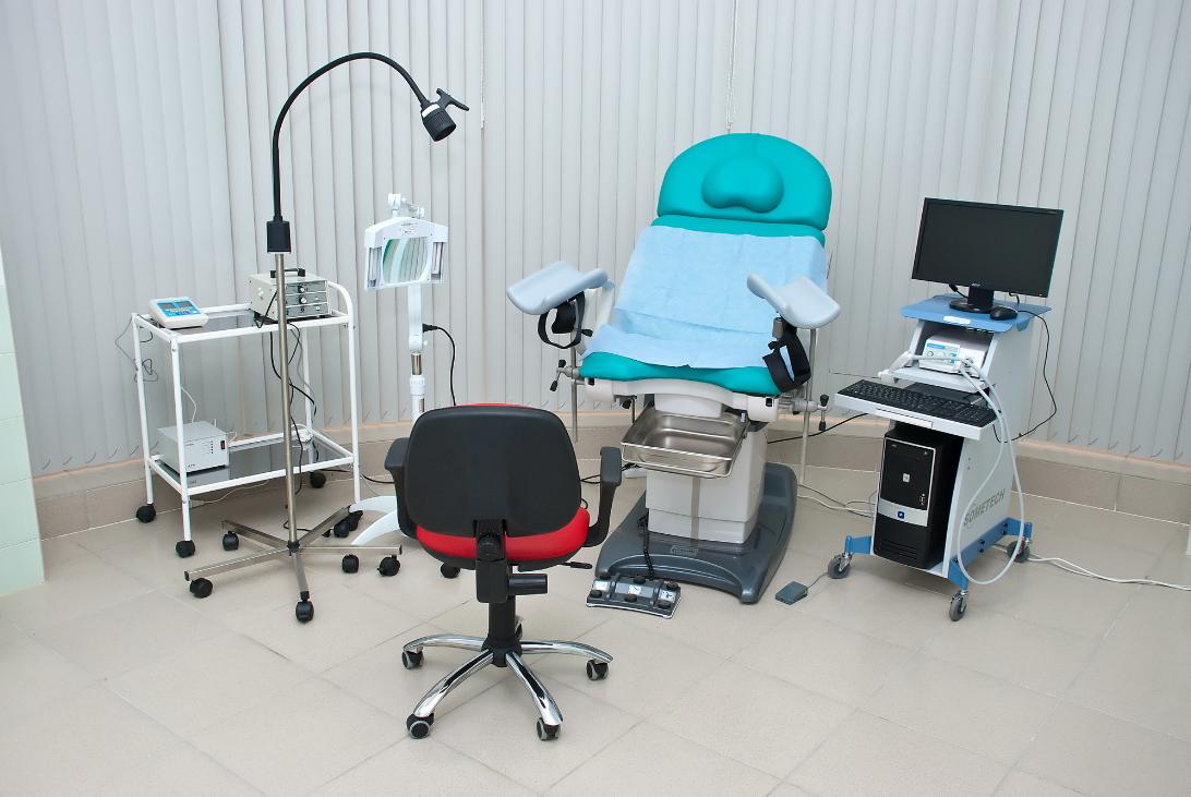 Оснащение кабинета гинеколога