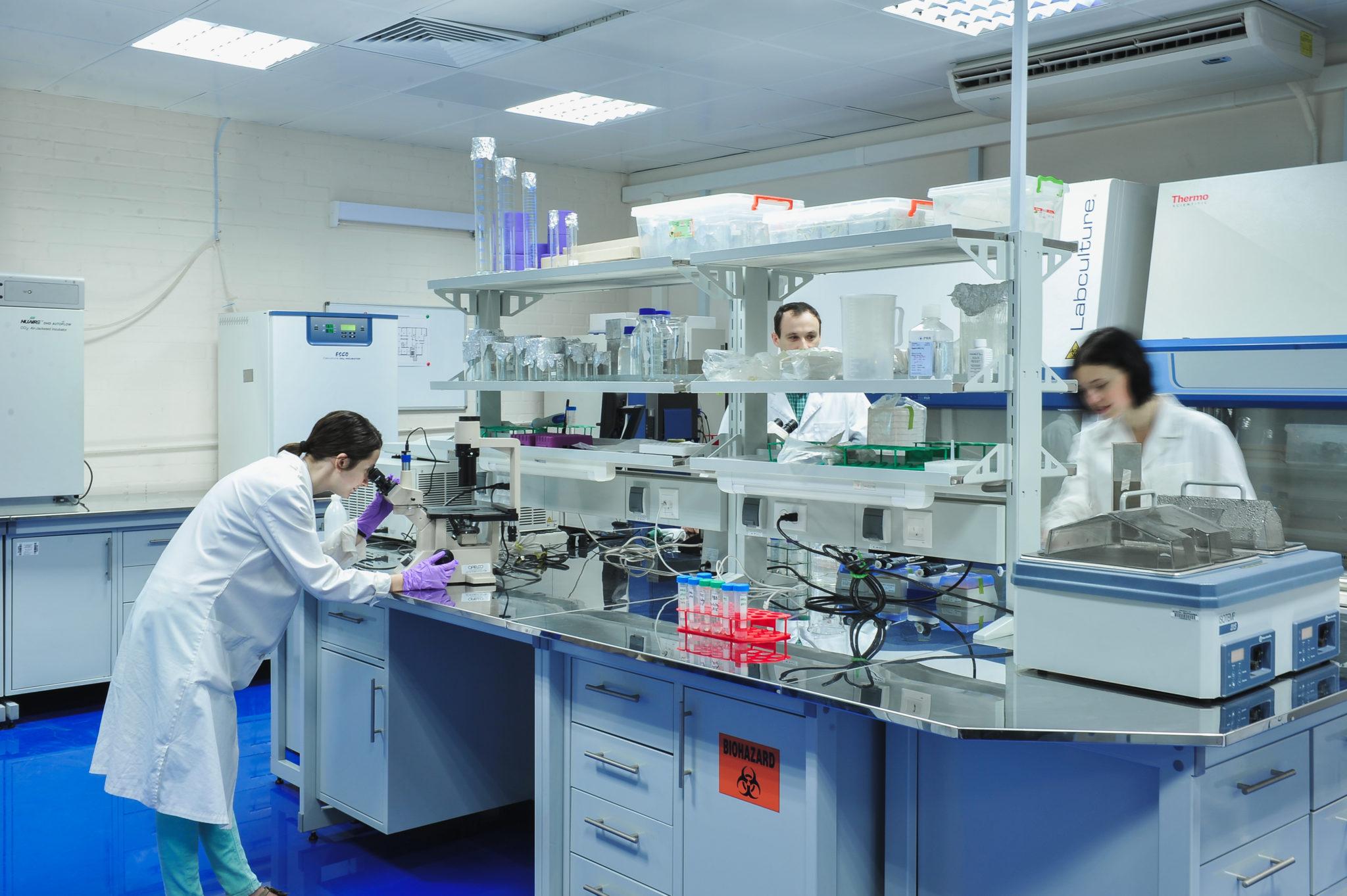 Оснащение клинико-диагностической лаборатории